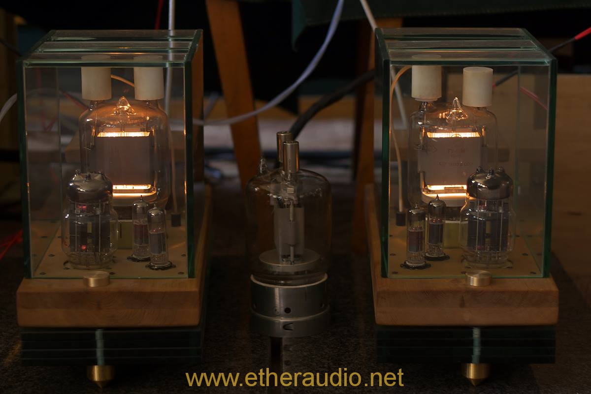 GU81 Single Ended Vacuum Tube Amplifier by Etheraudio